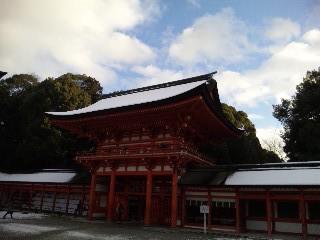 雪の下鴨神社6