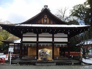 雪の下鴨神社5