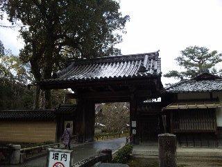 雪の鹿苑寺(<br />  金閣寺)その1