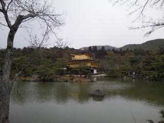 雪の鹿苑寺(<br />  金閣寺)その4  金閣2