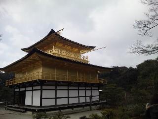雪の鹿苑寺(<br />  金閣寺)その6  金閣4