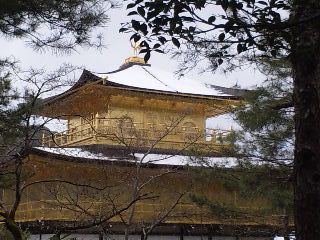 雪の鹿苑寺(<br />  金閣寺)その8  金閣6