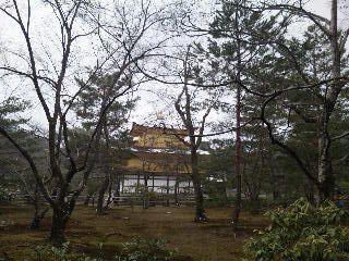 雪の鹿苑寺(<br />  金閣寺)その11  金閣9