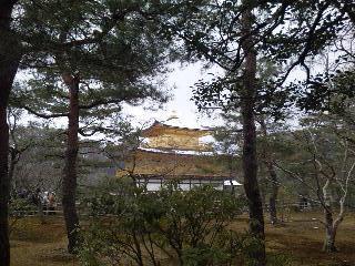 雪の鹿苑寺(<br />  金閣寺)その12  金閣10