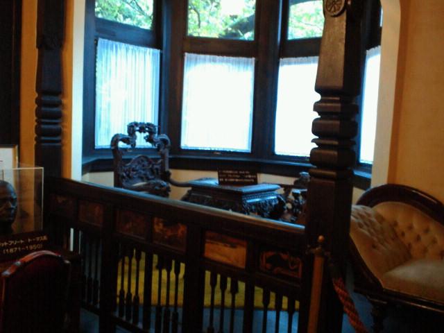 風見鶏の館・書斎1