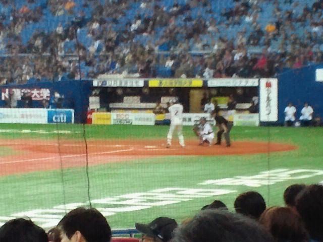 東京ヤクルトスワローズ8番打者・相川