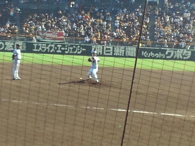 阪神タイガース四番手投手・若竹