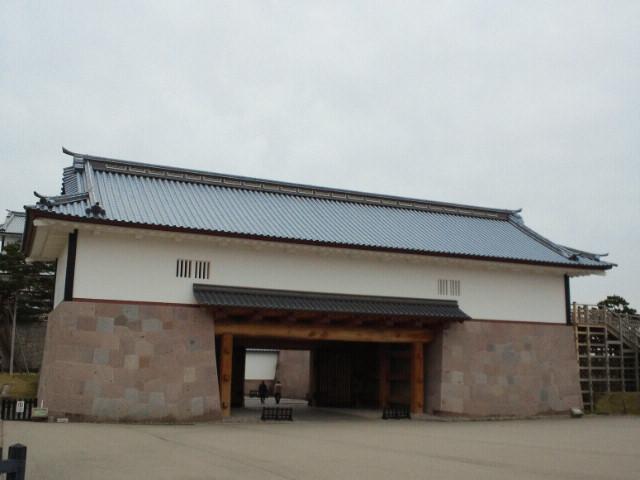 金沢城河北門二の門