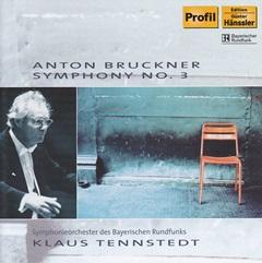 クラウス・テンシュテット指揮バイエルン放送交響楽団 ブルックナー 交響曲第3番「ワーグナー」