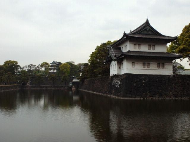 江戸城桜田巽櫓と富士見櫓
