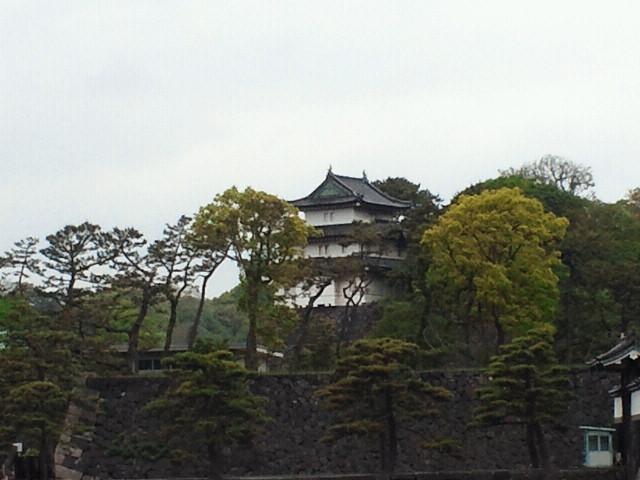 遠方から見た富士見櫓