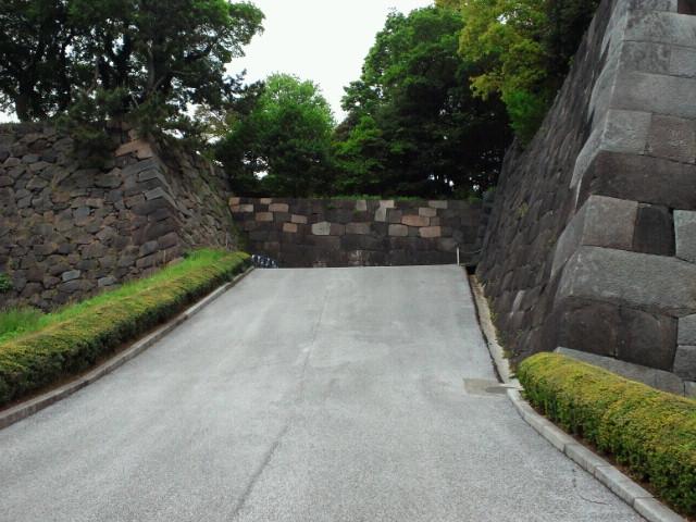 江戸城跡汐見坂
