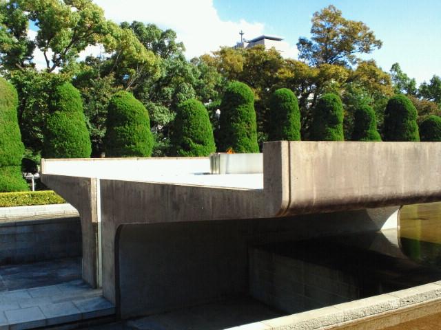 広島平和記念公園・平和の火
