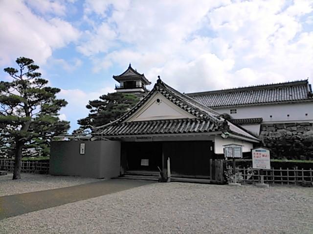 詰門と高知城天守