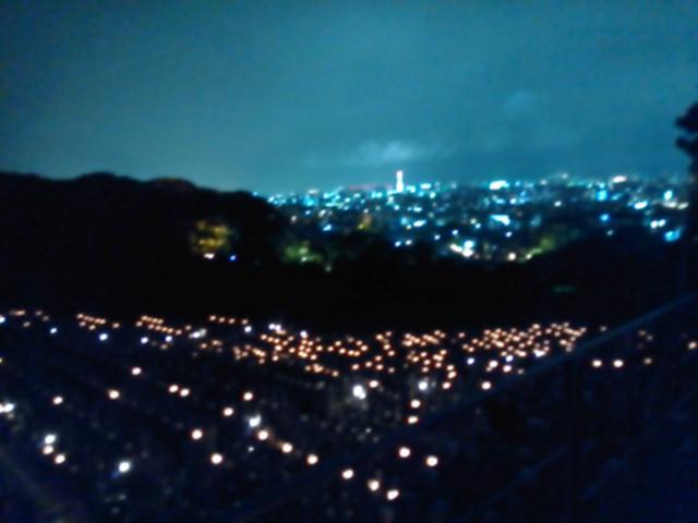 東大谷万灯会