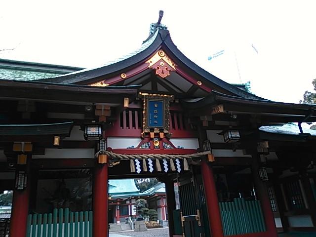 日枝神社(日枝山王社) 神門