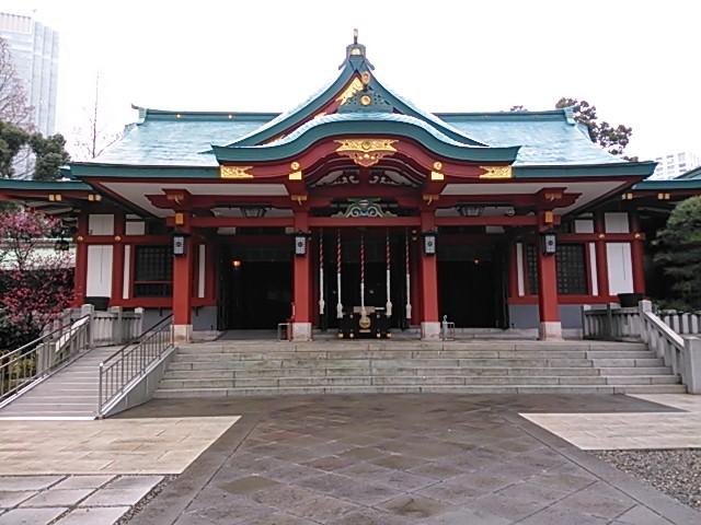 日枝神社(日枝山王社) 社殿