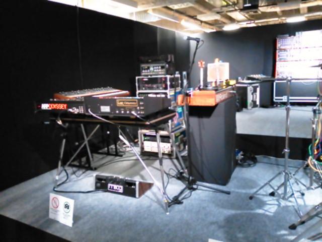 YMO楽器展 1978-2015 大阪 坂本龍一のキーボード