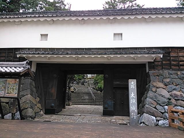 大垣城 本丸東門