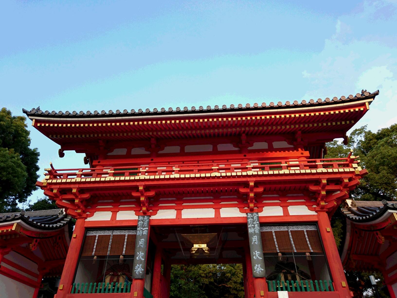 八坂神社西楼門・夕景