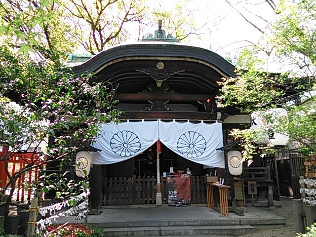 堀越神社拝殿