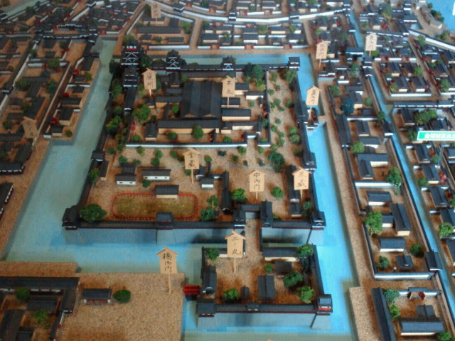 広島城復元模型