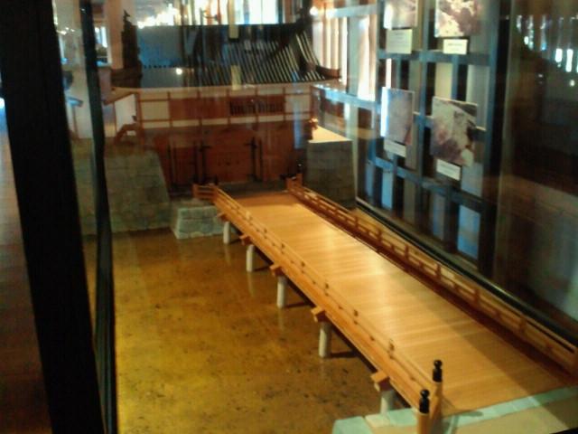 広島城表御門模型