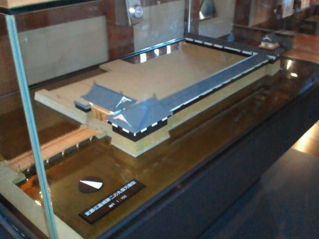 広島城二の丸模型