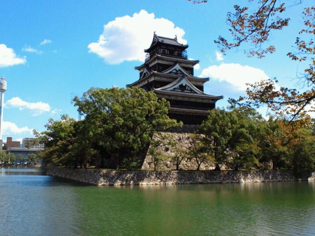 広島城天守遠景
