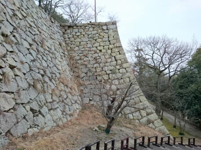 明石城 石垣
