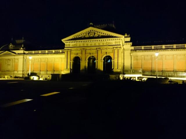 京都国立博物館 明治古都館夜景
