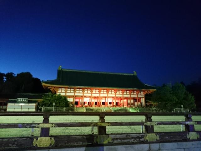 平安神宮夜間拝観