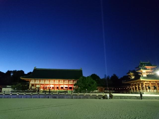 平安神宮夜間拝観4