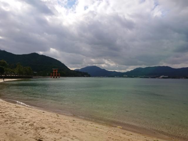 海の写真集 安芸の宮島(2)