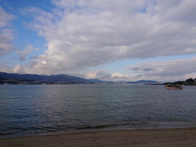海の写真集 安芸の宮島(4)