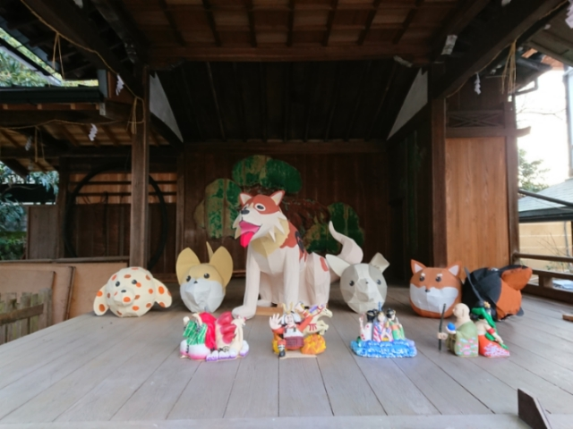 粟田神社にて