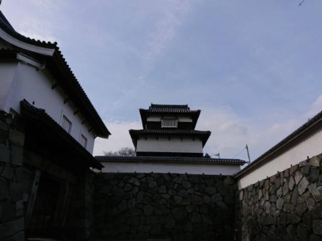 福岡城 伝潮見櫓と下之橋御門