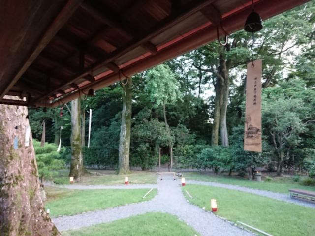 旧三井家下鴨別荘夜間特別開館(3)