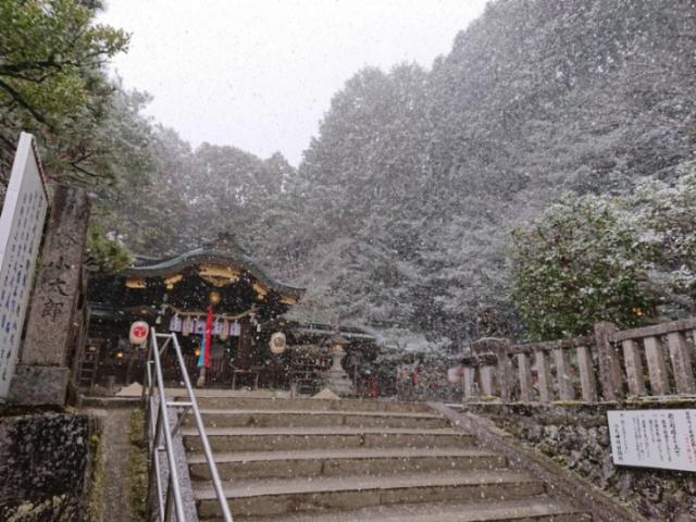 雪の八大神社