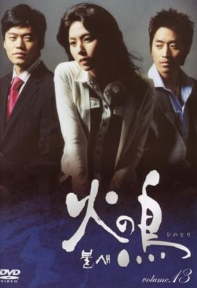イ・ウンジュの遺作となった韓国ドラマ「火の鳥」DVDボックスⅡジャケット