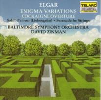 ジンマン指揮ボルチモア交響楽団 エルガー「エニグマ変奏曲」
