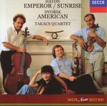 タカーチ弦楽四重奏団 ハイドン「皇帝」&「日の出」、ドヴォルザーク「アメリカ」